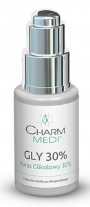 CHARM MEDI Kwas glikolowy 30%/ Gly 30% PH 1.2 50 ml