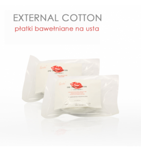 EXTERNAL COTTON LIP 100szt.