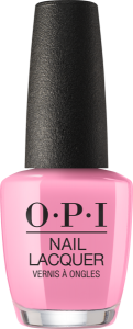NLH38 OPI Nail Lacquer I THINK IN PINK/ Lakier do paznokci 15 ml