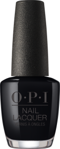 NLT02 OPI Nail Lacquer LADY IN BLACK/ Lakier do paznokci 15 ml