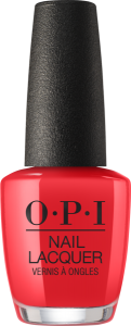 NLH42 OPI Nail Lacquer RED MY FORTUNE COOKIE/ Lakier do paznokci 15 ml