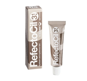 RefectoCil Żelowa henna do brwi i rzęs - kolor 3.1 Jasny Brąz - 15 ml