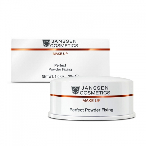 Janssen Cosmetics Perfect Powder Fixing / Puder utrwalający transparentny 30 g